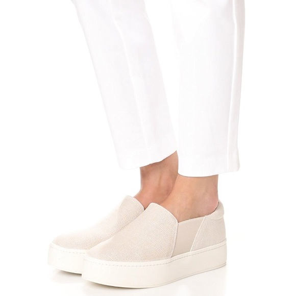 ebebbcc4cb3 Vince Shoes - Vince Warren Platform Skate Sneakers - sz 7.5